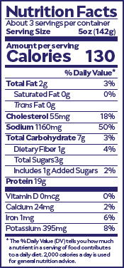 Adobo Nutrition Facts