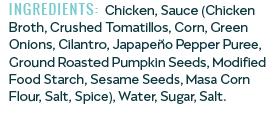 Jocón Ingredients