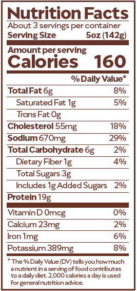Maafe Nutrition Facts